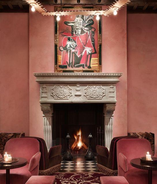 Fireplace - Gramercy Park Hotel in New York City, USA