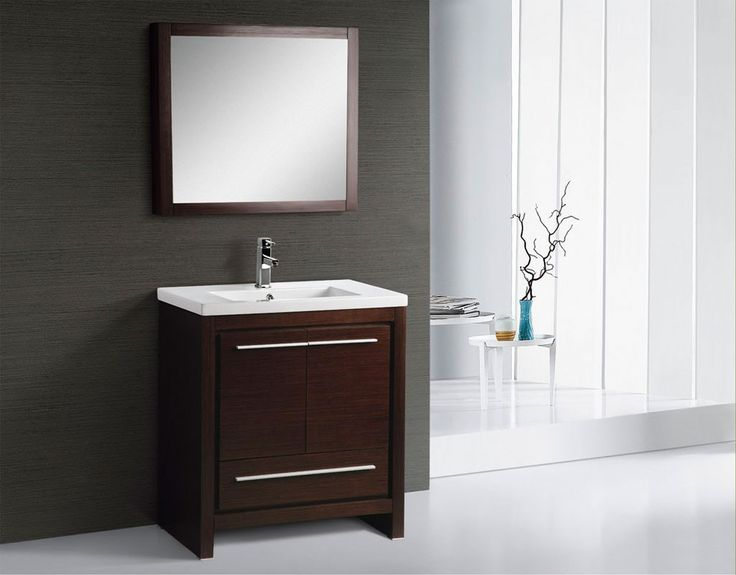 Photo Gallery For Website BT Adornus Alexa Inch Modern Bathroom Vanity Set Wenge