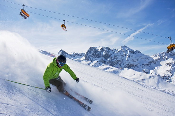 montafon skiing - austria