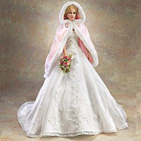 Warmth of His Love, Desiree, Wedding doll, by Cindy McClure, 2006 for Ashton-Drake