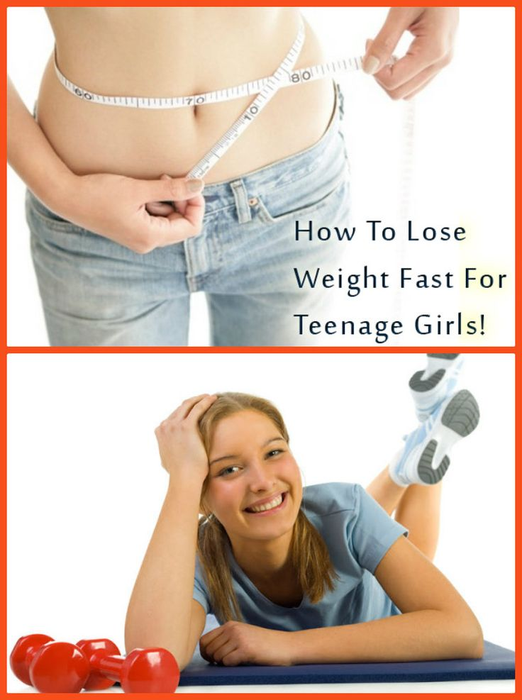 How to Lose Weight Fast for Teenagers !
