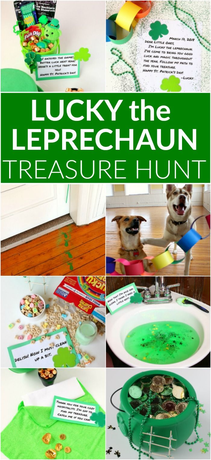 Lucky the Leprechaun Treasure Hunt