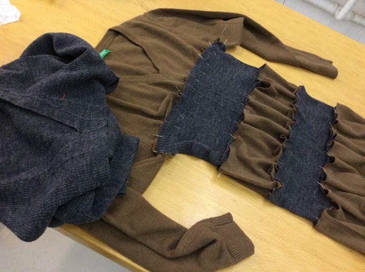 Sweater+sweater=dress