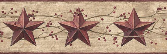 Berry Star Wall Border