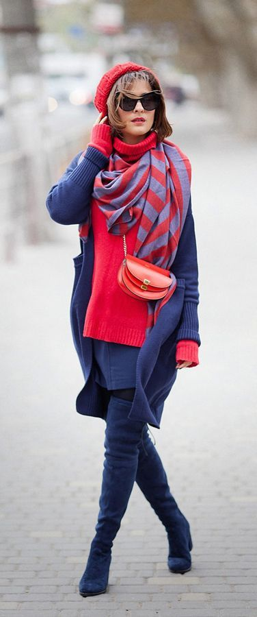 Подбираем цвет шапки и шарфа | Stilouette Услуги стилиста онлайн, в Германии и во Франкфурте