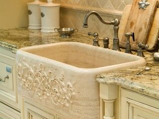 french country traditional kitchen milwaukee by elizabeth steiner photography - French Kitchen Sinks