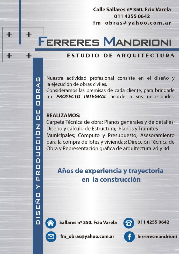 Encontrá las mejores ideas e inspiración para el hogar. NOSOTROS por Ferreres & Mandrioni | homify