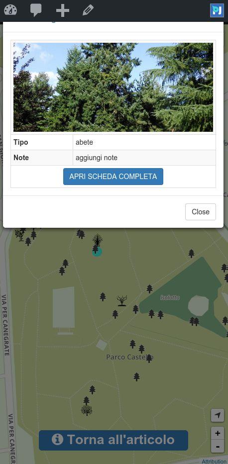 Mappa degli alberi v2