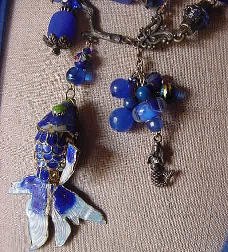 All the fish in the sea, the only fish in the sea, fish tales, fishy-ness, the world is fascinated by fish. And Phish. What can be said about this necklace besides it is perfect for the fish (phish) lover, or anyone with a longing for the sea And that is is fantastically original with