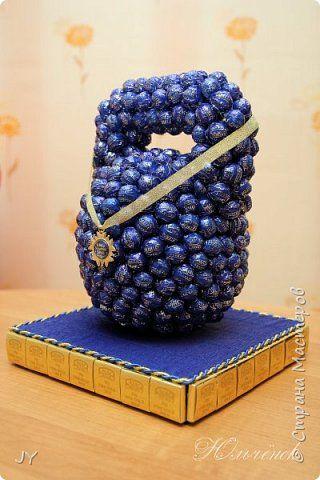 Свит-дизайн День рождения Бумагопластика Подарки для мужчин Бумага гофрированная фото 1