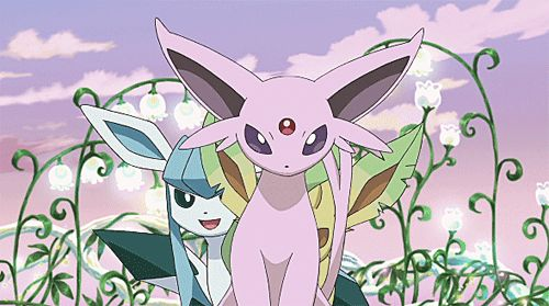 Espeon, Glaceon and Leafeon