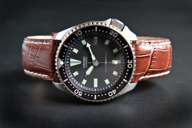 SOLD // eBay | VINTAGE - SEIKO 7002 -7000 SCUBA DIVER'S 150M  #watch, #Seiko, #divers, #submariner, #vintage, #timepieces, #original
