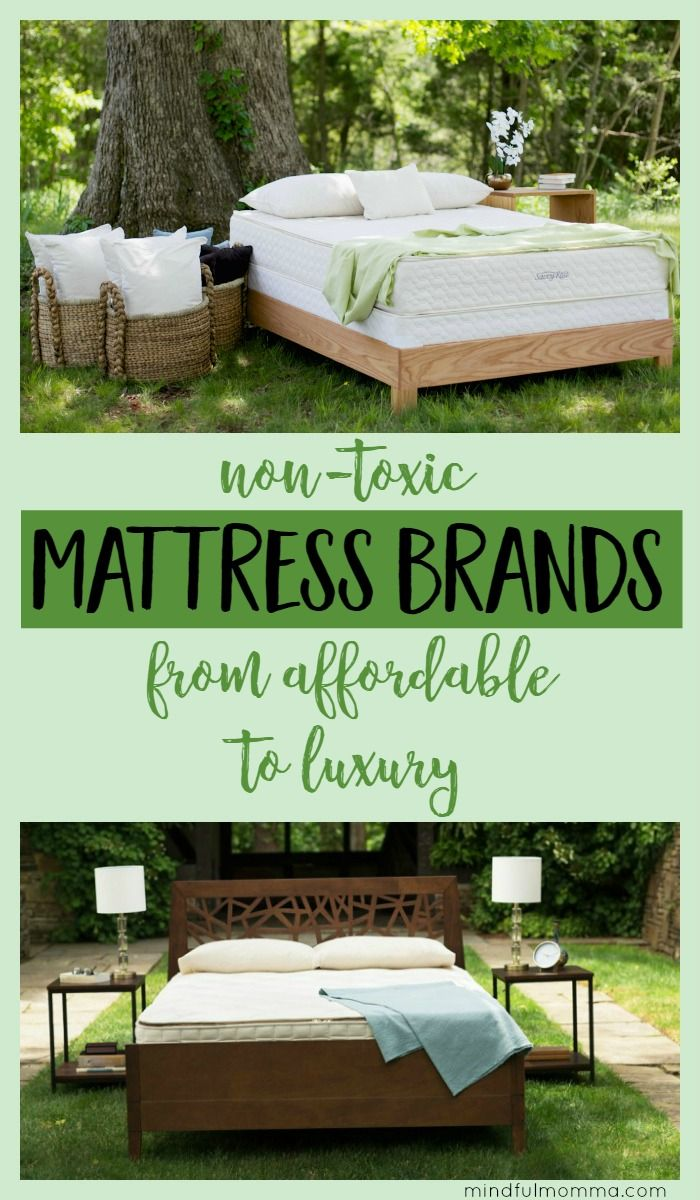 Non-Toxic Mattress Brands: Get the scoop on the best brands to look for including safe materials and fire retardants used, eco-friendly certifications, pricing and more. | natural lifestyle | safer products | healthy bedroom