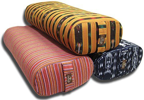 Lightweight with an ultra-soft feel this Rectangle Yoga Bolster will amaze you with its durability. Designed to maintain shape prevent sagging and flattening. 100 % Cotton bolster cover handmade in ...