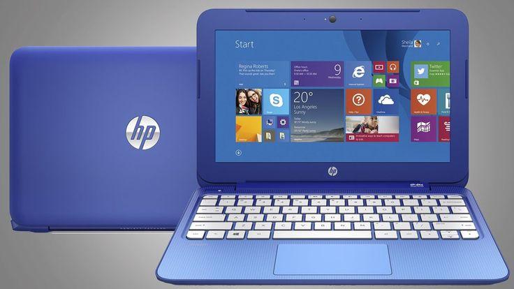 Gagnez un superbe ordinateur portable HP bleu !