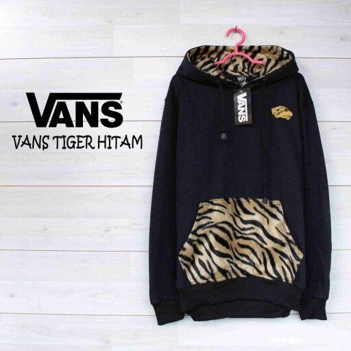 Black tiger Vans