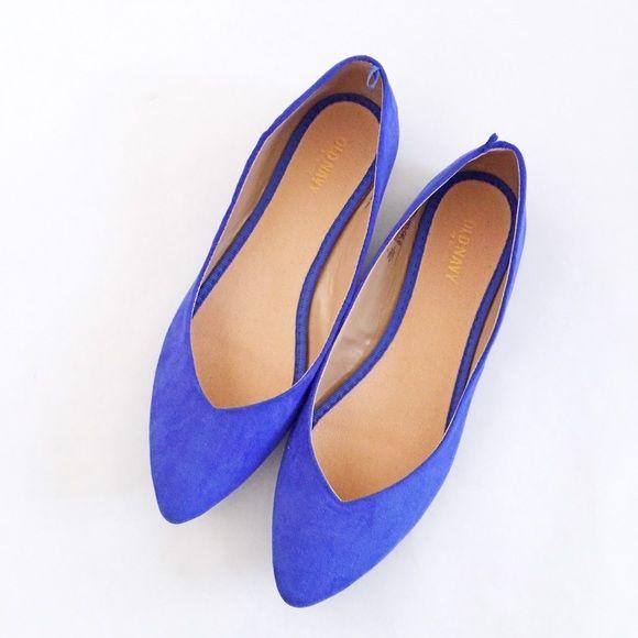 FINAL SALEOld Navy Flats NWOT Old Navy Royal Blue Suede Flats. Old Navy Shoes Flats & Loafers