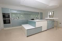 Image result for blue kitchens