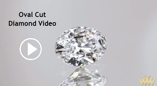 Oval Cut Diamond Video - val diamonds are just as the name implies- oval in outline. It has appeal to many because its elongated shape is graceful on the finger.
