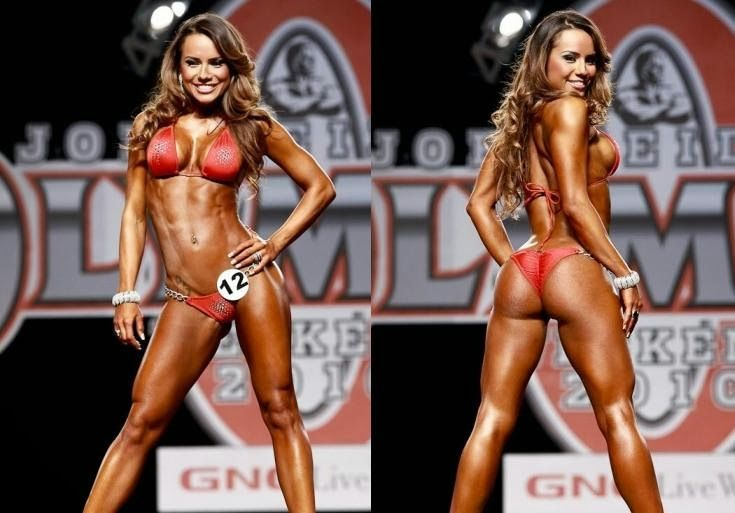 Not-too-muscular bodybuilding competitions for female bodybuilders. So
