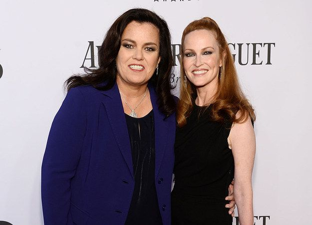 Rosie O'Donnell and Michelle Rounds | The 10 Most Famous Gay Parents And Their Families