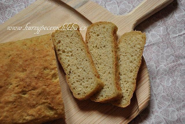 Chléb bez lepku – rychlovka