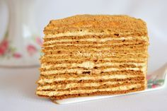 Торт Медово-карамельный