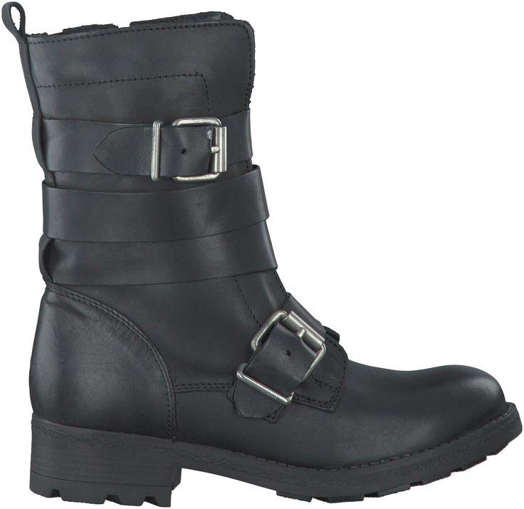 Zwarte Omoda Korte laarzen R13268
