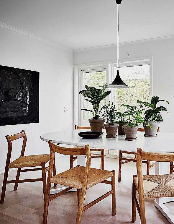 You Can Hang A Big Mirror In A Main Place Of Your Space Or Location It Across A Window To Reflec Scandinavian Dining Room Dining Room Design Living Room Styles
