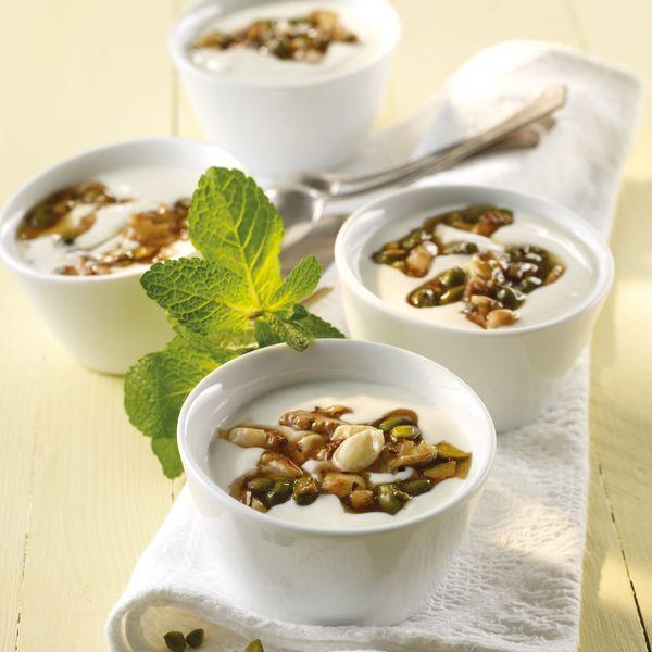 Griekse yoghurt met noten, maar 5 ProPoints waarden #WeightWatchers #WWrecept