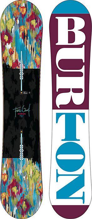 Burton Feelgood Flying V Snowboard - Women's Snowboards - Winter 2015/2016 - Christy Sports