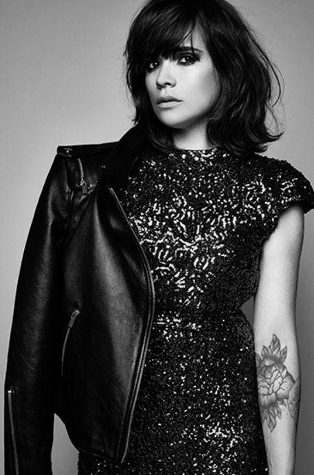 Lisa Gachet from Make My Lemonade's blog wearing our glitter dress Tara Jarmon Fall Winter 15/16 #tara_jarmon #glitter #dress #FallWinter15/16