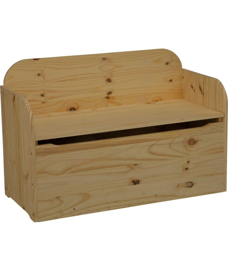 Buy Wooden Bench Storage Box - Pine at - Your Online Shop for Storage ...