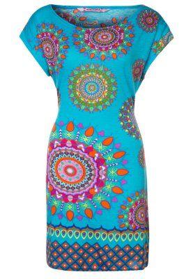 LUCRECIA - Vestito di maglina - blu
