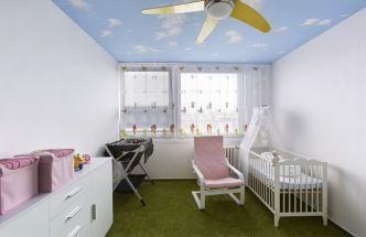 Pohádkový dětský pokoj v paneláku