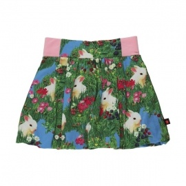 molo - Skirt: Bellatrix Rabbit Puffball Skirt. At Herbert and Stella.