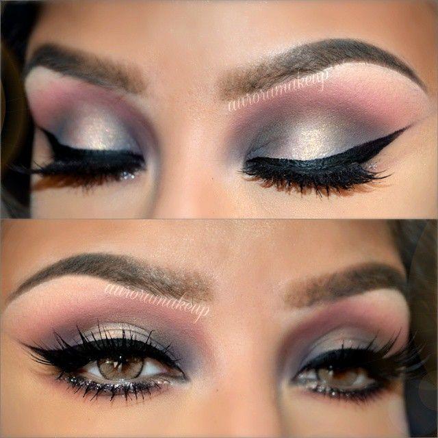 17 mejores ideas sobre sombra de ojos plateado en for Sombras de ojos para ojos marrones