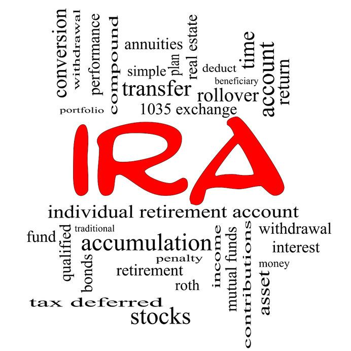 Can i put stock options in my ira