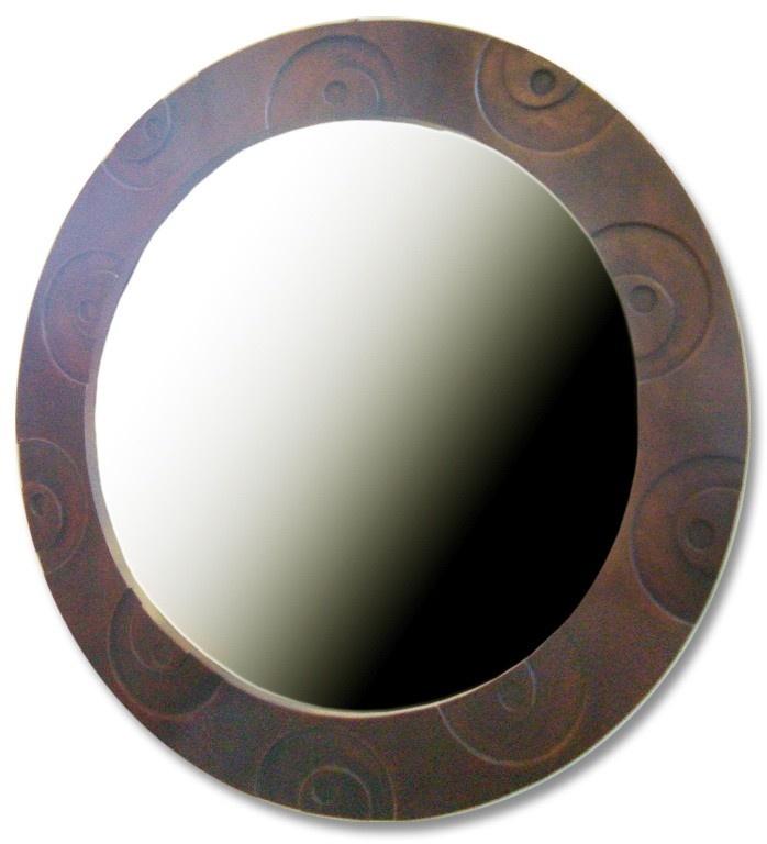 ROUND TIMBER MIRROR - ashanti furniture and design - gold coast custom sizes