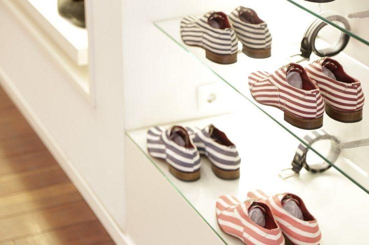 WE LIKE STRIPES   #oquirey #handmade #shoes #belts #stripes