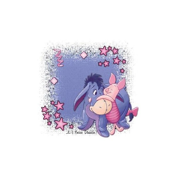 EEYORE image, picture by NicolaRaynor - Photobucket ❤ liked on Polyvore