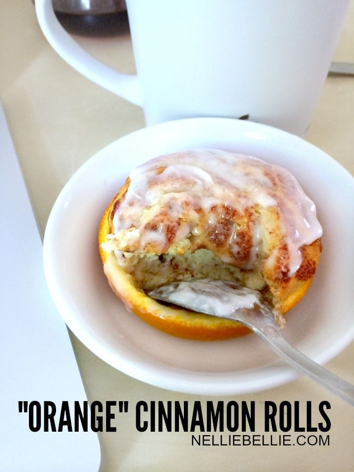 Make cinnamon rolls in an orange!! What a fun and fast treat!