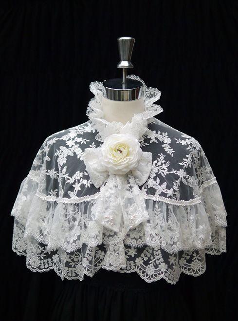 DaisyDaisy-Lady Lace Capelet 2Piece SET « Lace Market: Lolita Fashion Sales and Auctions