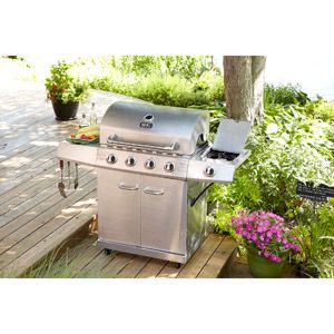 Better Homes And Gardens 4 Burner Stainless Steel Lp Gas Grill Gas Grill Pinterest Better