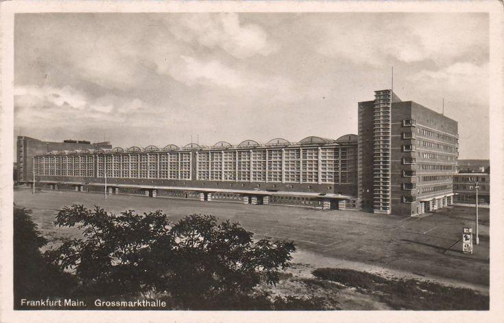 Elsaesser, Martin - Großmarkthalle, Frankfurt am Main (Great Market Hall, Frankfurt am Main), 1928