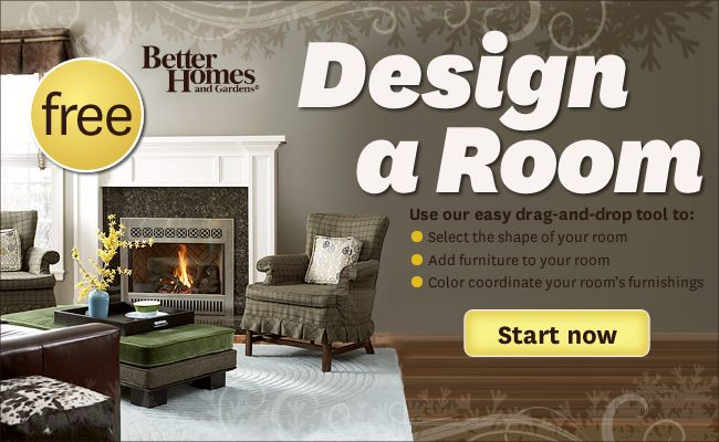 Design a Room by entering the dimensions of your room and the things you want in it.
