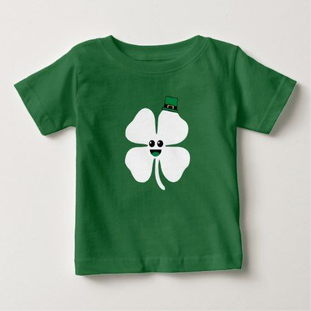 Cute Shamrock Kid Shirt - tap to personalize and get yours