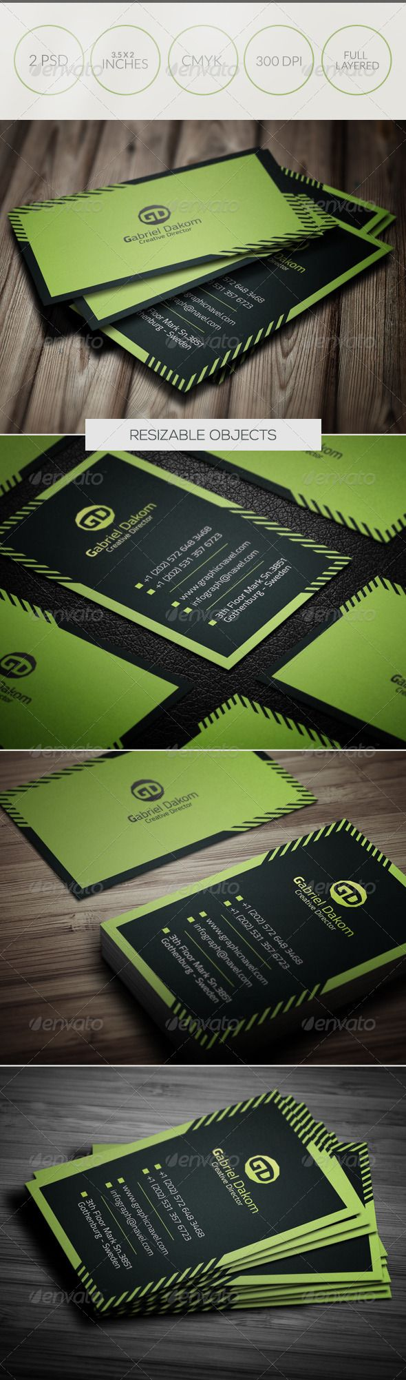 Creative Business Card 041  #GraphicRiver               A great Business card template for your business company. This card Template is perfect for programmers, IT company,Photographer's , Business company. File Included 2 PSD files and 1 readme file.   Features  Fully Editable Files (fully layered files)  3.5×2 (3.75×2.25 with bleeds + trim mark)  300 DPI  CMYK Colors Horizontal-Vertical Templates Print Ready Files   Files Includes  2 Photoshop Files   1 Readme File How to rate   Free…
