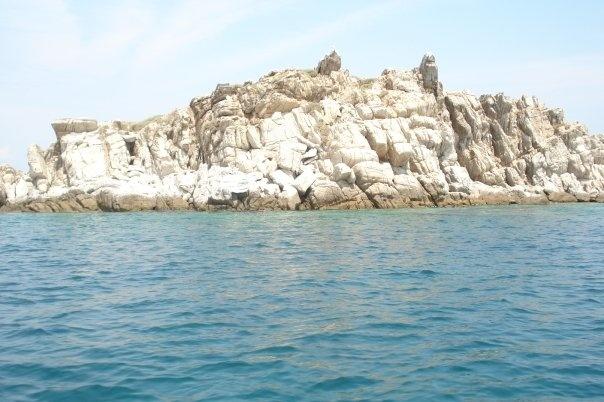 Rocks in Northern Greece