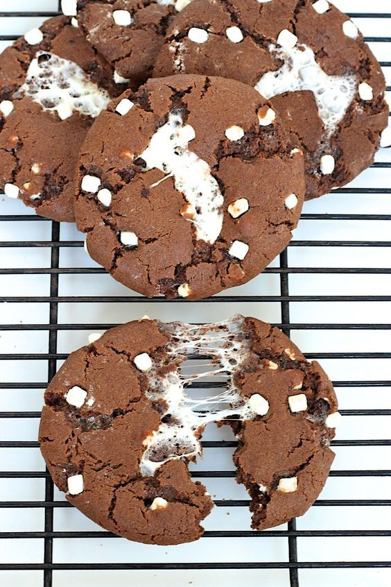 Keep warm this winter with the most delicious hot choc cookie recipe that will tickle your tastebuds